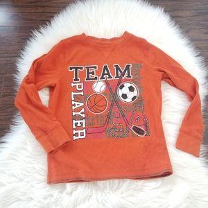2/10$ 🎆 George Boy Sport Orange Long Sleeve 6x